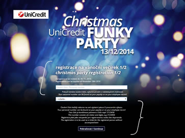 Christmas UniCredit Funky Party 2014