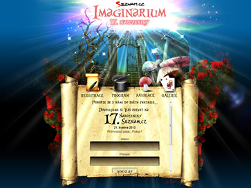 Seznam - Imaginarium 17. narozeniny