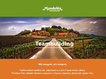 Mondelez team building 2016